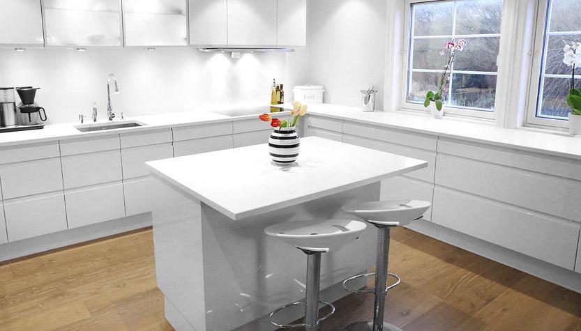granitt kompositt benkeplate kjøkkenplate bergen