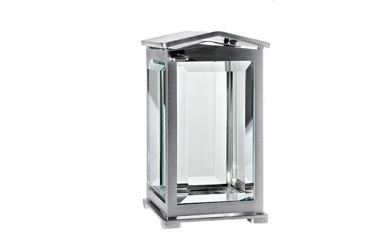 sølvlykt gravlykt i aluminium for gravminne