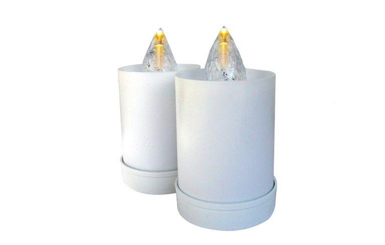 elektriske gravlys til gravminne og gravsted